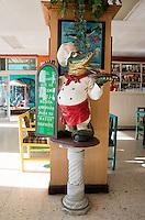 Restaurant, marisqueria.  en la nueva viga.  Mexico DF