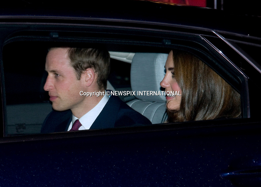 """PRINCE WILLIAM & CATHERINE, DUCHESS OF CAMBRIDGE TOGETHER WITH PRINCE CHARLES AND CAMILLA, DUCHESS OF CORNWALL.attend the Gary Barlow Concert in aid of The Prince's Trust City Riots Appeal and The Fpondation of Prince William and Prince Harry at the Royal Albert Hall, London_06/12/2011.Mandatory Photo Credit: ©Dias/NEWSPIX INTERNATIONAL.**ALL FEES PAYABLE TO: """"NEWSPIX INTERNATIONAL""""**..PHOTO CREDIT MANDATORY!!: DIASIMAGES(Failure to credit will incur a surcharge of 100% of reproduction fees)..IMMEDIATE CONFIRMATION OF USAGE REQUIRED:.DiasImages, 31a Chinnery Hill, Bishop's Stortford, ENGLAND CM23 3PS.Tel:+441279 324672  ; Fax: +441279656877.Mobile:  0777568 1153.e-mail: info@diasimages.com"""