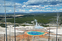 Grand Prismatic Pool. Yellowstone National Park, Wyoming