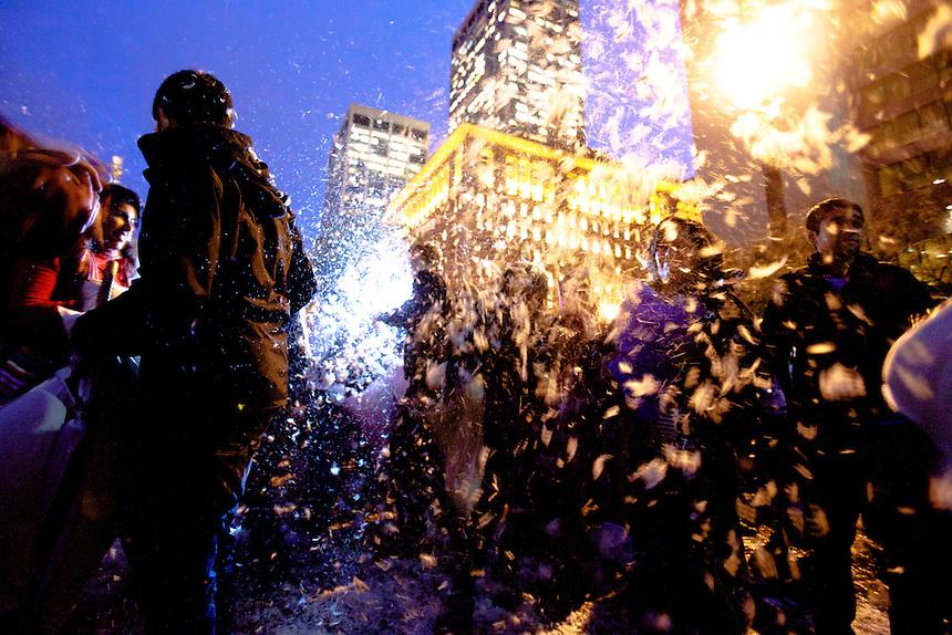 in San Francisco, Calif., Friday Feb. 11, 2011. (Photo by Bryce Yukio Adolphson, © 2011)