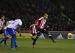 Leon Clarke of Sheffield Utd during the English League One match at the Bramall Lane Stadium, Sheffield. Picture date: November 22nd, 2016. Pic Simon Bellis/Sportimage