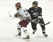 Joe Adams, Austin Miller  The Boston College Eagles defeated the Providence College Friars 3-2 in regulation on October 29, 2005 at Kelley Rink in Conte Forum in Chestnut Hill, MA.  It was BC's first Hockey East win of the season and Providence's first HE loss.