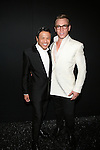 Zang Toi and Nick Gruber Backstage at Zang Toi Spring 2014 Fashion Show Held During Mercedes Benz Fashion Week NY
