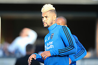 San Jose, CA - Wednesday May 17, 2017: Anibal Godoy prior to a Major League Soccer (MLS) match between the San Jose Earthquakes and Orlando City SC at Avaya Stadium.