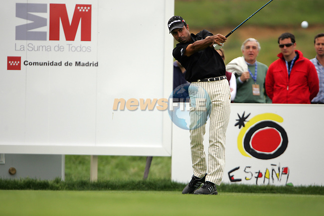 Jyoti Randhawa on the 11th tee in the final Round of the Open de Espana in Madrid...Photo NEWSFILE/Manus O'Reilly.(Photo credit should read Manus O'Reilly/NEWSFILE)....This Picture has been sent you under the condtions enclosed by:.Newsfile Ltd..The Studio,.Millmount Abbey,.Drogheda,.Co Meath..Ireland..Tel: +353(0)41-9871240.Fax: +353(0)41-9871260.GSM: +353(0)86-2500958.email: pictures@newsfile.ie.www.newsfile.ie.FTP: 193.120.102.198..
