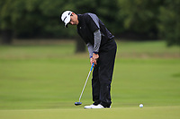 Dominic Foos (GER) on the 10th green during Round 2 of the Bridgestone Challenge 2017 at the Luton Hoo Hotel Golf &amp; Spa, Luton, Bedfordshire, England. 08/09/2017<br /> Picture: Golffile | Thos Caffrey<br /> <br /> <br /> All photo usage must carry mandatory copyright credit     (&copy; Golffile | Thos Caffrey)