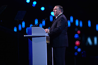 Washington, DC - March 25, 2019: U.S. Secretary of State Mike Pompeo speaks during the 2019 AIPAC Policy Conference held at the Washington Convention Center, March 25, 2019.  (Photo by Don Baxter/Media Images International)