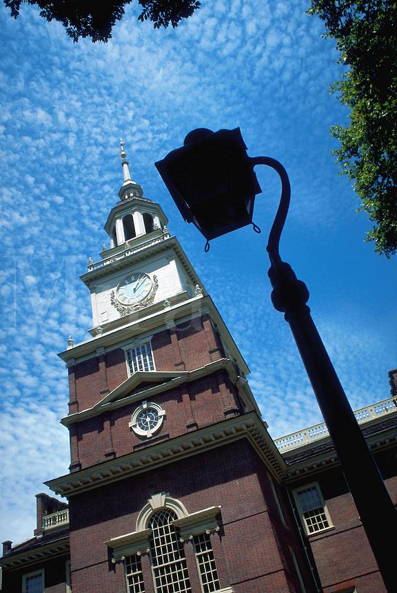 Tower of Independence Hall, Philadelphia, Pennsylvania
