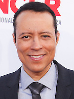 PASADENA, CA, USA - OCTOBER 10: Yancey Arias arrives at the 2014 NCLR ALMA Awards held at the Pasadena Civic Auditorium on October 10, 2014 in Pasadena, California, United States. (Photo by Celebrity Monitor)