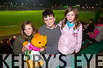 CBS the Green Football Challenge Match Fundraising for a new All Weather Pitch - CBS the Green all stars V All Ireland Champions 2014 at Austin Stacks Park on Tuesday. Pictured Shauna Brosnan, Ryan Brosnan and Lily Brosnan
