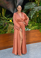 Tamera Mowry at the premiere for &quot;Jurassic World: Fallen Kingdom&quot; at the Walt Disney Concert Hall, Los Angeles, USA 12 June 2018<br /> Picture: Paul Smith/Featureflash/SilverHub 0208 004 5359 sales@silverhubmedia.com