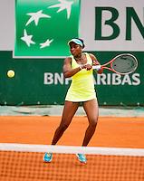 01-06-13, Tennis, France, Paris, Roland Garros, Sloane Stephens