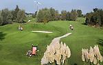 WERVERSHOOF - Hole 9 (l) en 10. Golfbaan De Vlietlanden. COPYRIGHT KOEN SUYK