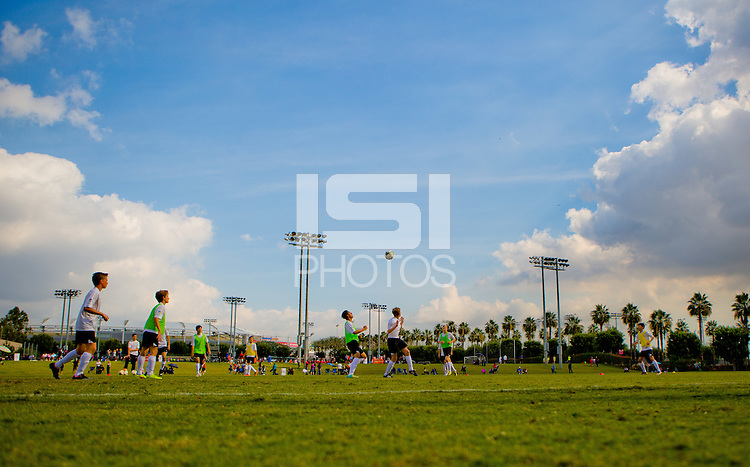Carson, CA. - Saturday, November 15, 2014: US Soccer Development Academy held the U-13/14 West regional showcase at StubHub Center.