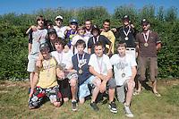 04 July 2010: Arvernes Clermont-Ferrand , little league, championnat Minimes Cadets, Ronchin, France.