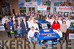 Kerry Mayor Pat McCarthy launched the 2015 Killarney Historics Rally  in Killarney on Sunday