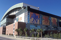 baseball stadium, Phoenix, Arizona, AZ, Bank One Ballpark home of Arizona Diamondbacks in downtown Phoenix.