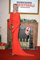 """LONDON, UK. November 21, 2018: Joely Richardson at the """"Surviving Christmas with the Relatives"""" premiere at the Vue Leicester Square, London.<br /> Picture: Steve Vas/Featureflash"""