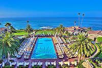 Montage Hotel Resort, Laguna Beach, CA, Swimming Pool, luxury, resort, Orange County, California, picturesque arts community,