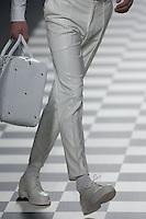 David DelfÌn at Mercedes-Benz Fashion Week Madrid 2013