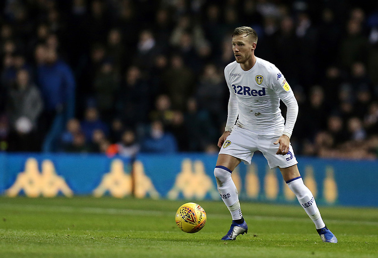 Leeds United's Barry Douglas<br /> <br /> Photographer Rich Linley/CameraSport<br /> <br /> The EFL Sky Bet Championship - Leeds United v Reading - Tuesday 27th November 2018 - Elland Road - Leeds<br /> <br /> World Copyright © 2018 CameraSport. All rights reserved. 43 Linden Ave. Countesthorpe. Leicester. England. LE8 5PG - Tel: +44 (0) 116 277 4147 - admin@camerasport.com - www.camerasport.com