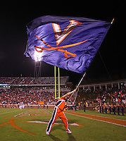 Oct 23, 2010; Charlottesville, VA, USA;  during the 2nd half of the game at Scott Stadium. Virginia won 48-21. Mandatory Credit: Andrew Shurtleff