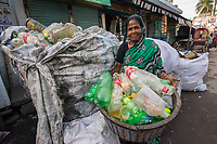 Amirun , recycling, Sonadanga sweeper colony, Khulna