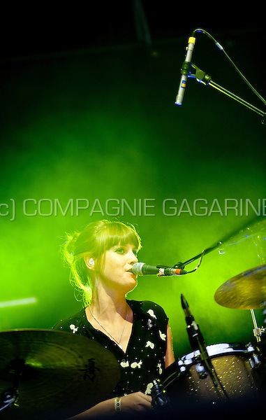 Concert of the Belgian band Daan at the Woosha festival (Belgium, 19/07/2014)