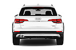 Straight rear view of 2017 Audi A4-Allroad Design-Luxe 5 Door wagon Rear View  stock images