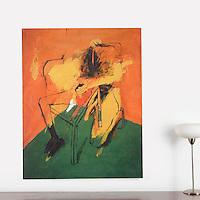 "FRAMED Berberian: How Many Like Me, Digital Print on Canvas, Black Float Frame Dimensions 40"" x 50"""