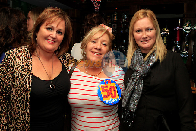 Rose Bird, Noeleen Meegan (50th birthday) and Noeleen Tiernan in Barocco...Photo NEWSFILE/Jenny Matthews..(Photo credit should read Jenny Matthews/NEWSFILE)