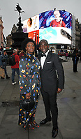 guest and Jimmy Akingbola at the Black Magic Awards 2019, The Criterion Theatre, Piccadilly Circus, London, England, UK, on Monday 10th June 2019.<br /> CAP/CAN<br /> ©CAN/Capital Pictures