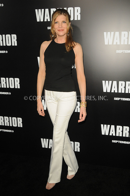 WWW.ACEPIXS.COM . . . . .  ....September 6 2011, LA....Rene Russo arriving at the premiere of 'Warrior' at the Arclight Hollywood on September 6, 2011 in Hollywood, California.....Please byline: PETER WEST - ACE PICTURES.... *** ***..Ace Pictures, Inc:  ..Philip Vaughan (212) 243-8787 or (646) 679 0430..e-mail: info@acepixs.com..web: http://www.acepixs.com