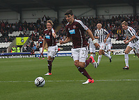 Callum Paterson in the St Mirren v Heart of Midlothian Clydesdale Bank Scottish Premier League match played at St Mirren Park, Paisley on 15.9.12.