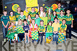 COLOURS:  Flemby NS Pupils and teachers held their Kerry Colours Day Wednesday. Front l-r: Grace Rola,Soren Dowd,Daniel Roche,Emily Jane Rola,Cormac McGovern,Aisha Pabon,Aiden Hill and Allan Fazilov. Back l-r: Dáire McGovern, Megan Malone,Múintear Fiona Cooke, Jack O'Flaherty, Shauna Murphy, Cody Barry,Ginna Fitzgibbon, Sophie Foran,Paivi Dowds,Laura O' Shea,Cerys Rider,Sofia Dowds,Muinteoir Paul Roche and Phoenix Costello.