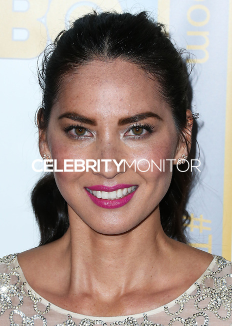 LOS ANGELES, CA, USA - NOVEMBER 04: Olivia Munn arrives at the Los Angeles Season 3 Premiere Of HBO's Series 'The Newsroom' held at the DGA Theatre on November 4, 2014 in Los Angeles, California, United States. (Photo by Xavier Collin/Celebrity Monitor)