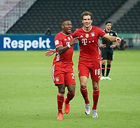 FCB Serge Gnabry , Jubel , Torjubel , nach dem 2:0<br /> <br /> firo, Sport, Fussball, Pokalfinale: Saison 2019/2020, 04.07.2020<br /> DFB-Pokal Finale der Herren<br /> Bayer Leverkusen - FC Bayern München , Muenchen<br /> <br /> Foto: <br /> Jürgen Fromme / firosportphoto / POOL / Marc Schueler / Sportpics.de<br /> <br /> Nur für journalistische Zwecke! Only for editorial use!