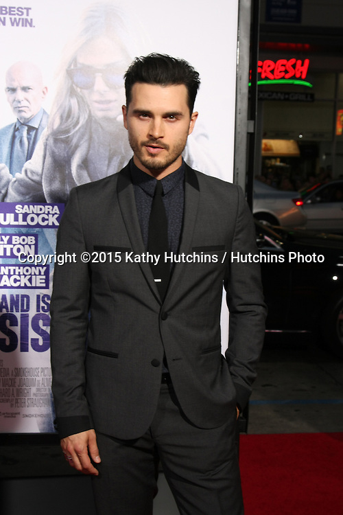 """LOS ANGELES - OCT 26:  Michael Malarkey at the """"Our Brand is Crisis"""" LA Premiere at the TCL Chinese Theater on October 26, 2015 in Los Angeles, CA"""