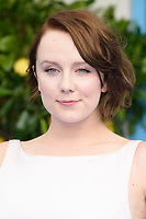 """Alexa Davies<br /> arriving for the """"Mama Mia! Here We Go Again"""" World premiere at the Eventim Apollo, Hammersmith, London<br /> <br /> ©Ash Knotek  D3415  16/07/2018"""
