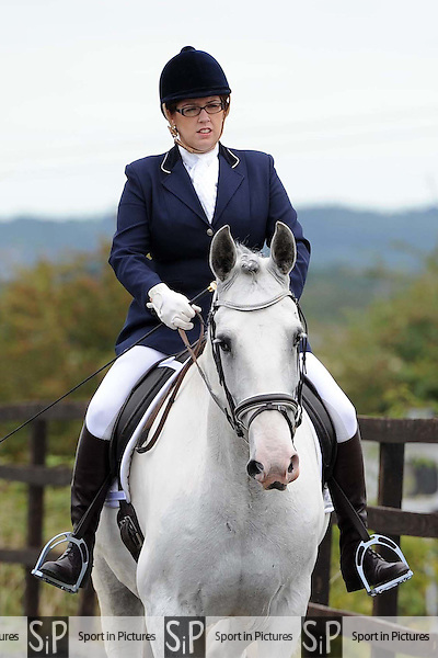 Class 2. Whitehalls farm unaffiliated dressage. Essex. 14/08/2016. MANDATORY Credit Ellen Szalai/Sportinpictures - NO UNAUTHORISED USE - 07837 394578