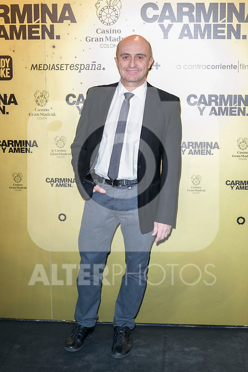"Spanish actor Pepe Viyuela attend the Premiere of the movie ""Carmina y Amen"" at the Callao Cinema in Madrid, Spain. April 28, 2014. (ALTERPHOTOS/Carlos Dafonte)"