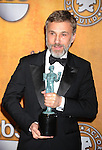 LOS ANGELES, CA. - January 23: Christoph Waltz  poses in the press room at the 16th Annual Screen Actors Guild Awards held at The Shrine Auditorium on January 23, 2010 in Los Angeles, California.