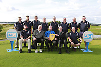 Castlebar team winners of the AIG Jimmy Bruen Shield Connacht Final, in Galway Bay Golf Club, Galway, Ireland. 12/08/2017<br /> Picture: Fran Caffrey / Golffile