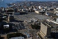 1995 February ..Redevelopment..Macarthur Center.Downtown North (R-8)..CLOSEUP LOOKING WEST ...NEG#.NRHA#..