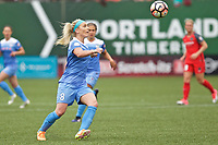 Portland, OR - Saturday April 29, 2017: Julie Johnston Ertz during a regular season National Women's Soccer League (NWSL) match between the Portland Thorns FC and the Chicago Red Stars at Providence Park.