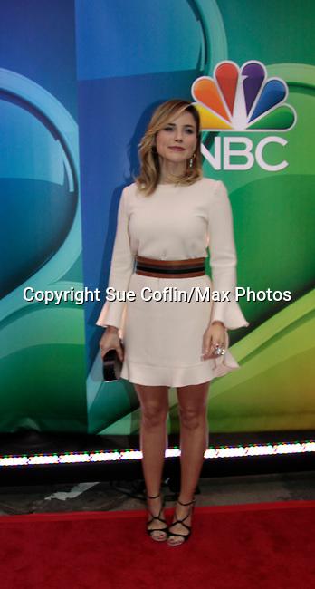 Sophia Bush - Chicago P.D. - NBC Upfront at Radio City, New York City, New York on May 11, 2015 (Photos by Sue Coflin/Max Photos)