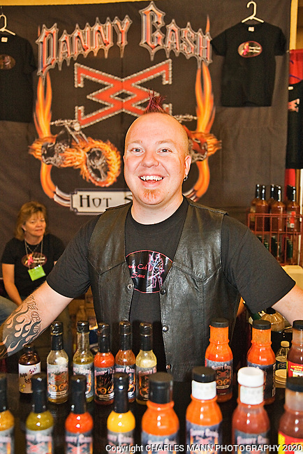 The 23rd Annual National Fiery Foods & Barbeque Show was held in March 2011 at the Sandia Pueblo casino and drew participants from as ar away as Michigan, California, Ohio and Germany. Denver denizen Danny Cash is the largest vendor of hot foods in the state of Colorado.