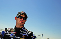 Apr 25, 2009; Talladega, AL, USA; NASCAR Sprint Cup Series driver Casey Mears during qualifying for the Aarons 499 at Talladega Superspeedway. Mandatory Credit: Mark J. Rebilas-