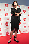 British-Swiss model and actress Emma Ferrer poses for the cameras during the ELLE WOMEN in SOCIETY 2018 on June 16, 2018, Tokyo, Japan. The annual event focuses on working women's role in the Japanese society through various seminars where top businesswomen, celebrities and leaders are invited to speak. (Photo by Rodrigo Reyes Marin/AFLO)