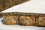 Trapp Family Lodge Resort woodshed.